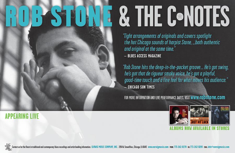 Rob Stone Poster Design
