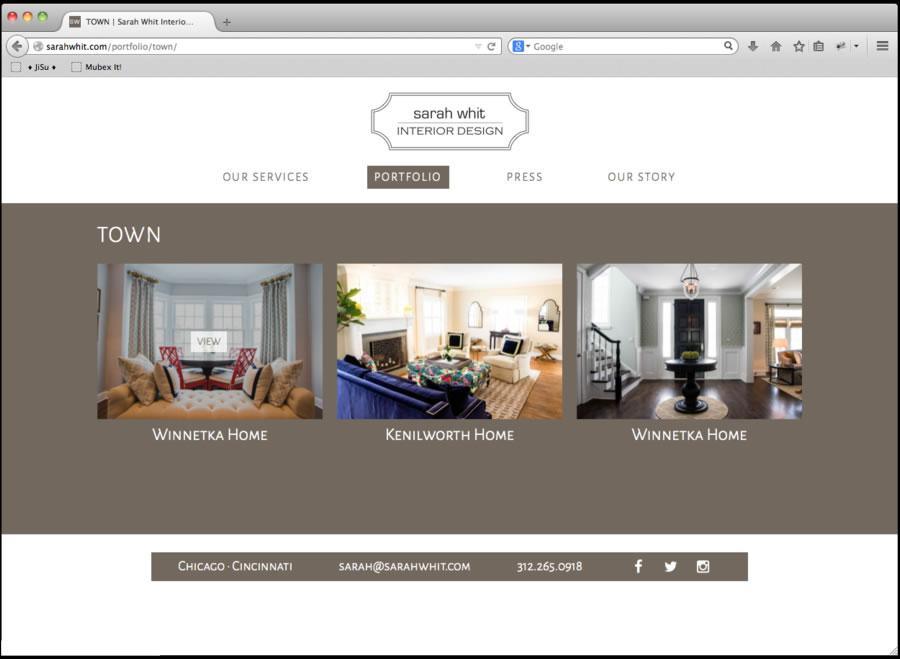 Sarah Whit Website Design3