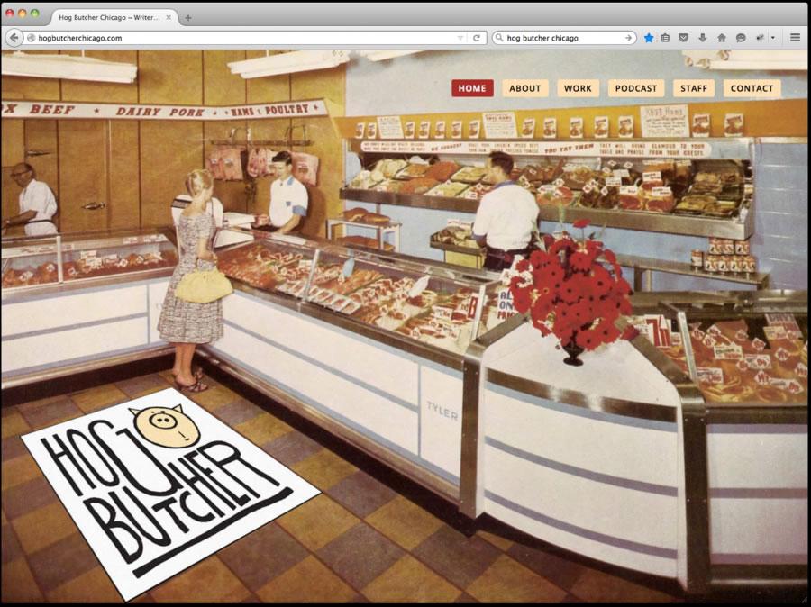 Hog Butcher Website Design 1
