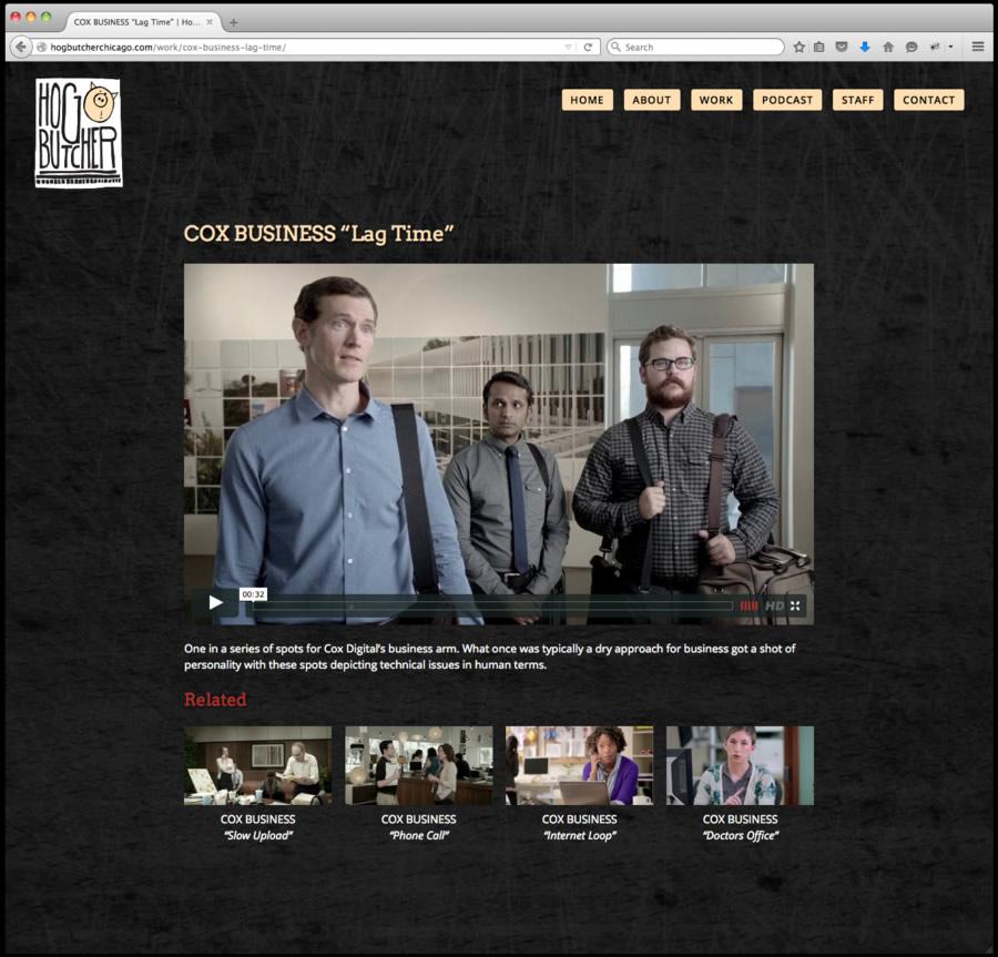 Hog Butcher Website Design 6