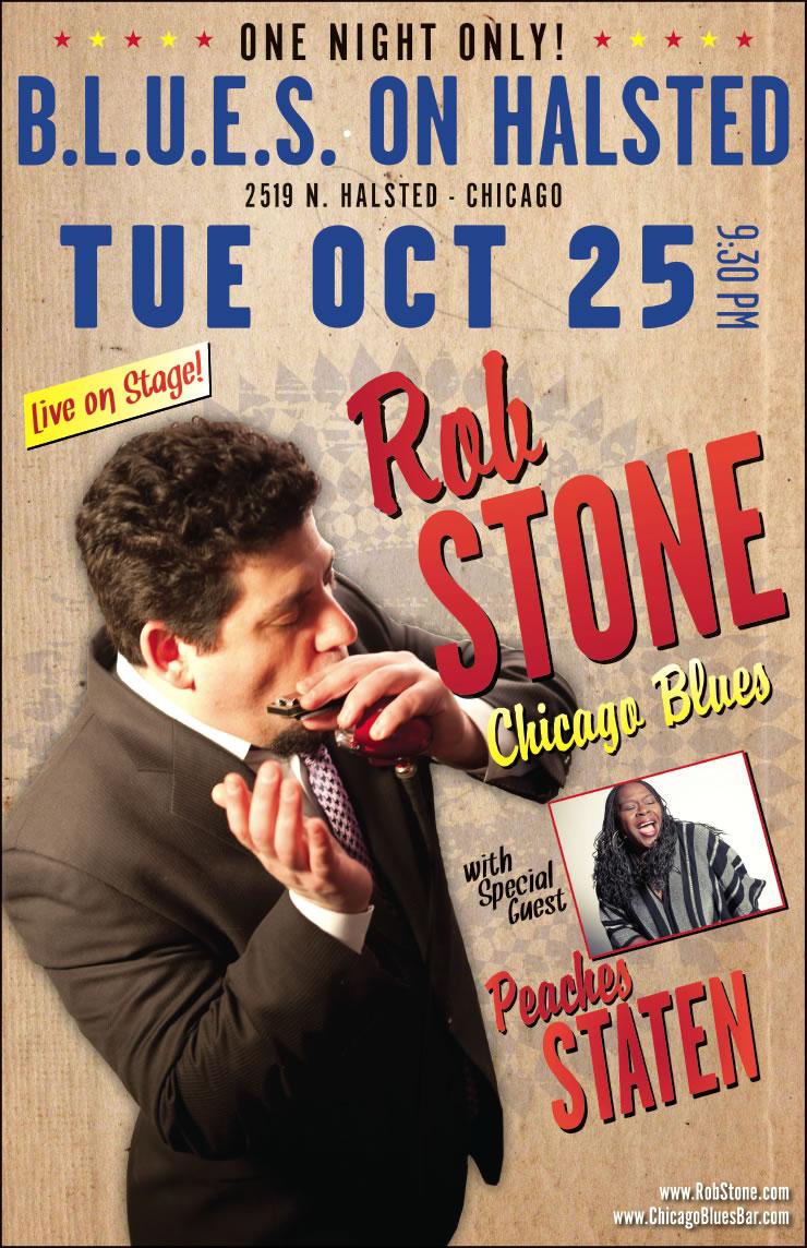 Rob Stone Poster Design #1