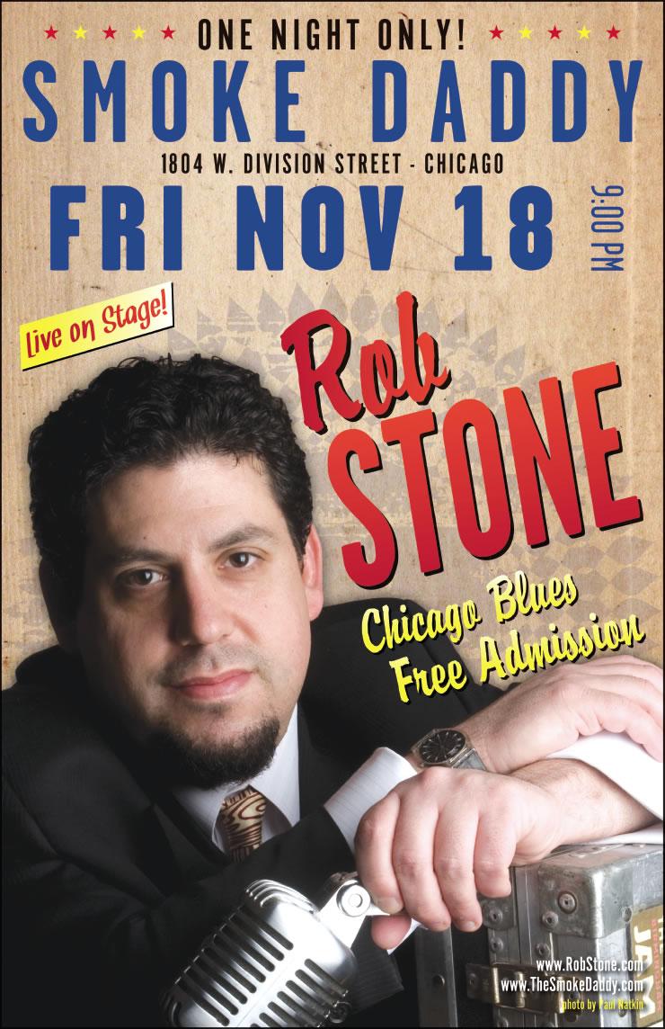 Rob Stone Poster Design #3