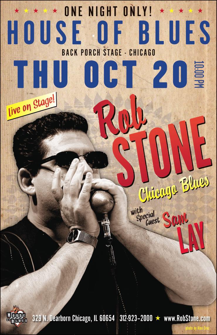 Rob Stone Poster Design #2