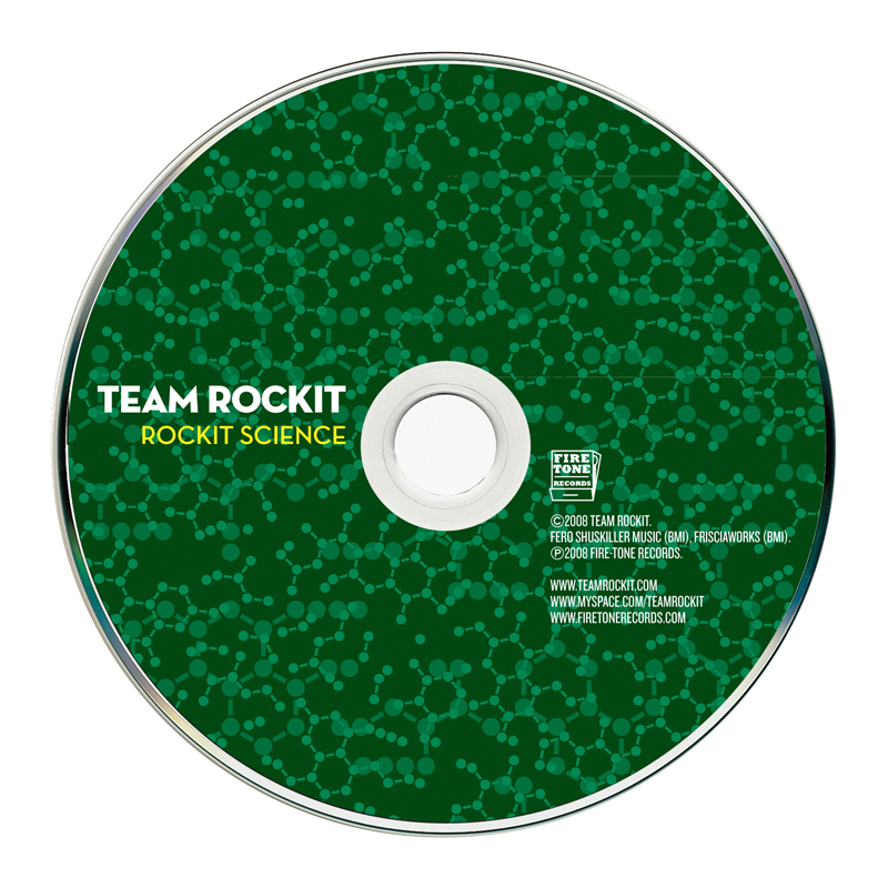 Team Rockit CD Design #7