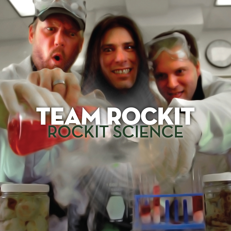 Team Rockit CD Design #1