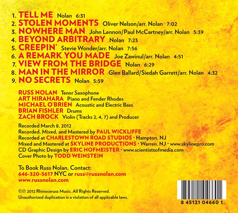 Russ Nolan CD Design #2
