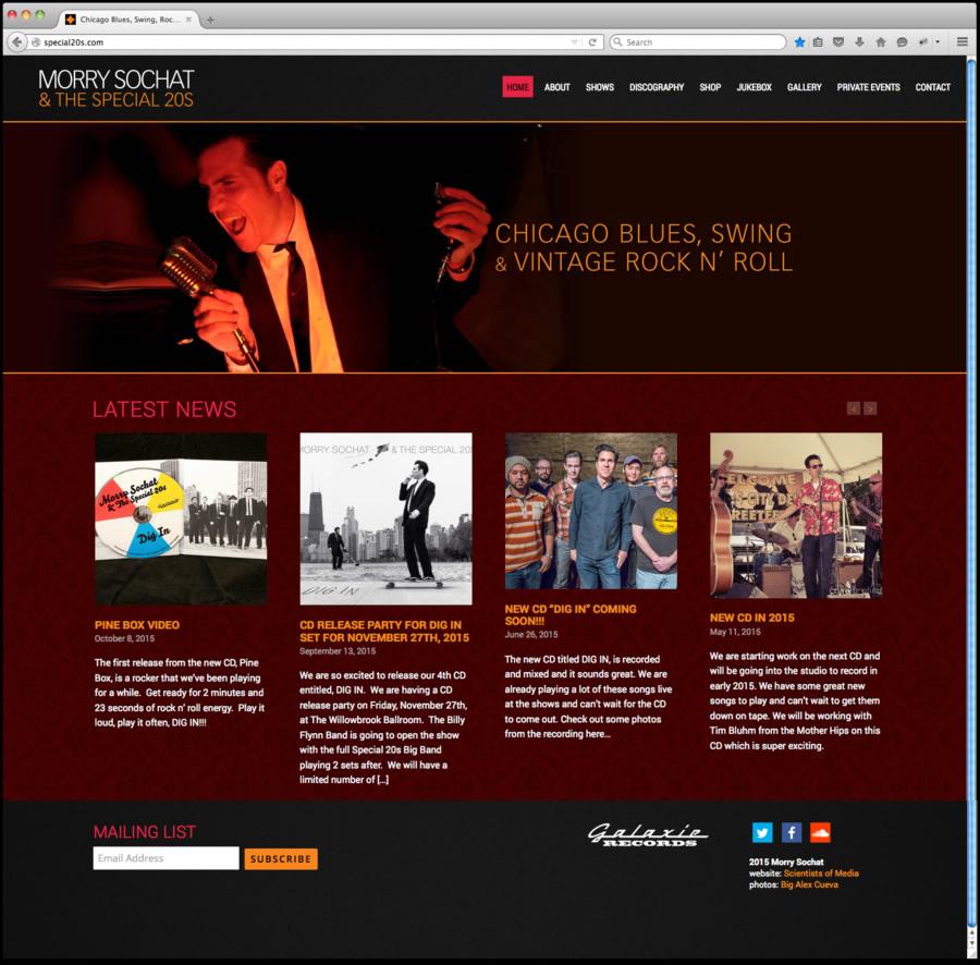 Special 20s Website Design 1