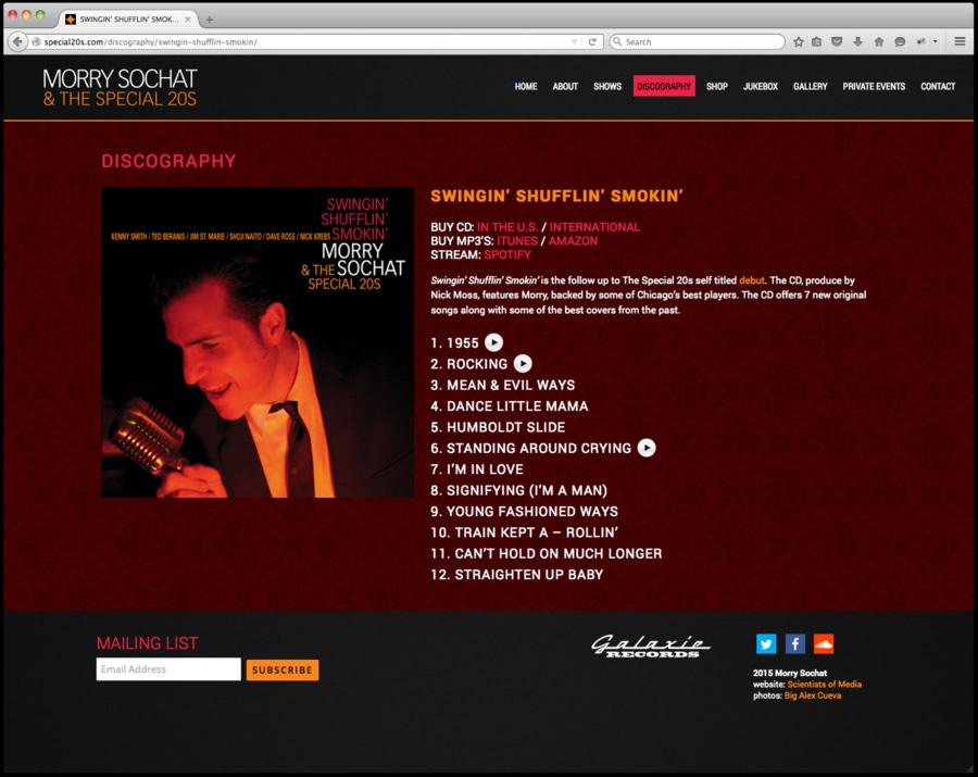 Special 20s Website Design 4