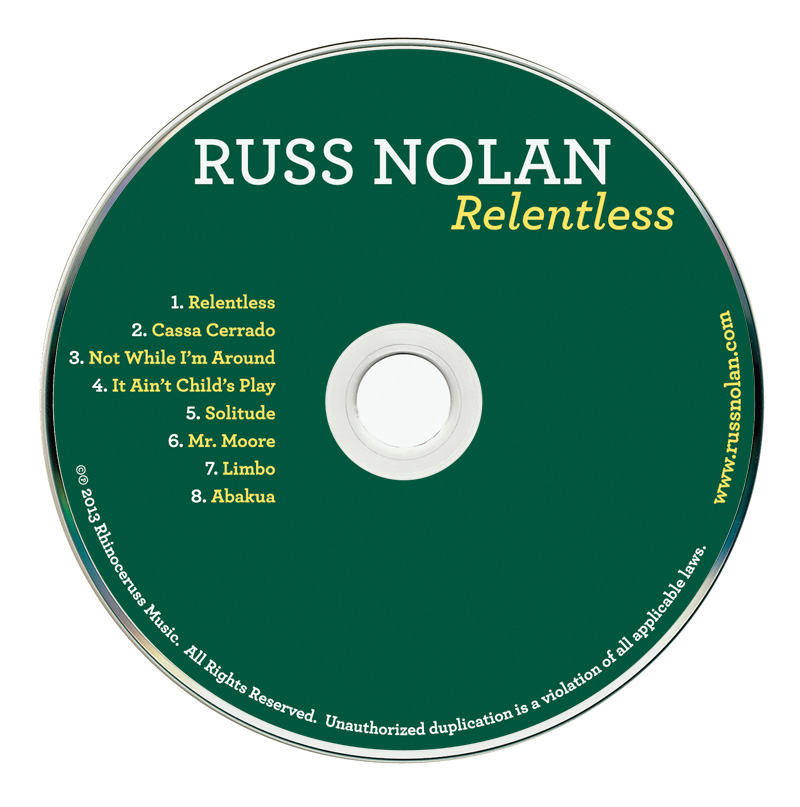 Russ Nolan CD Design