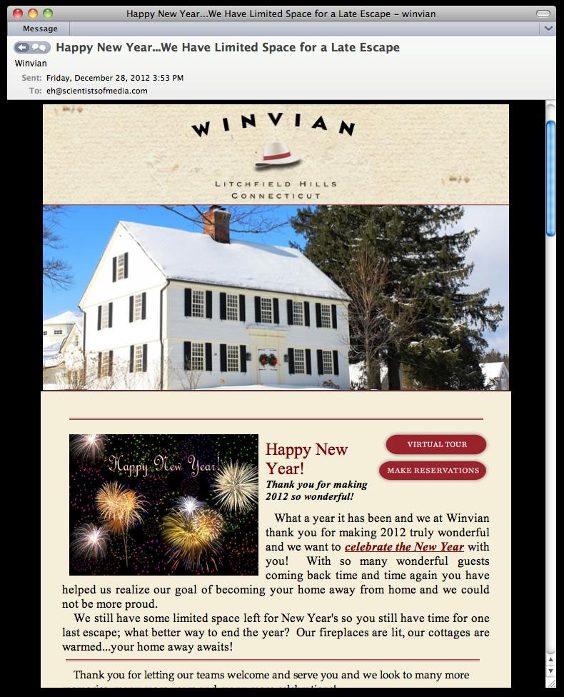 Winvian Email Newsletter Design Programming 01