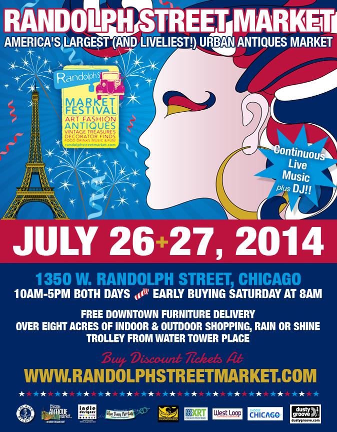 Randolph Street Market Ad Design