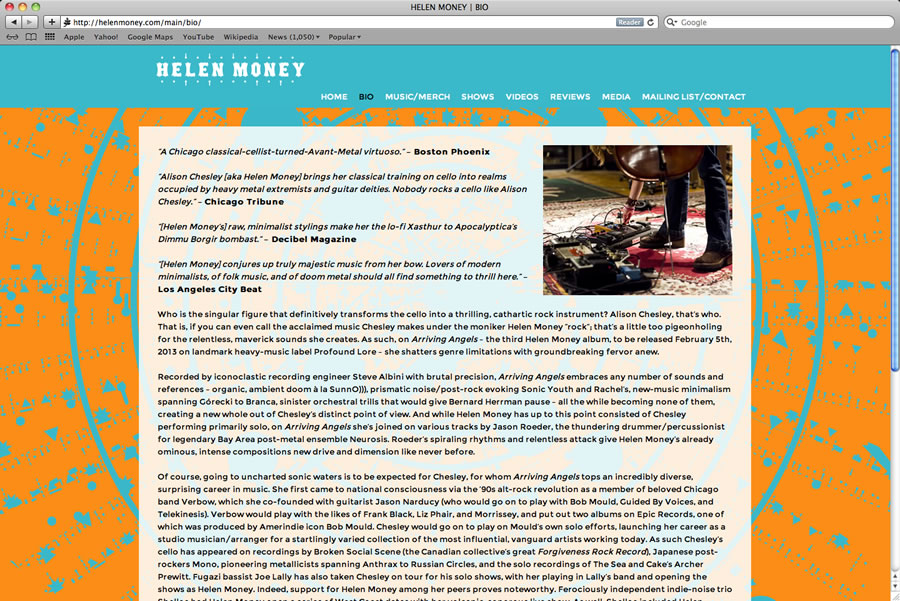 Helen Money Website 02