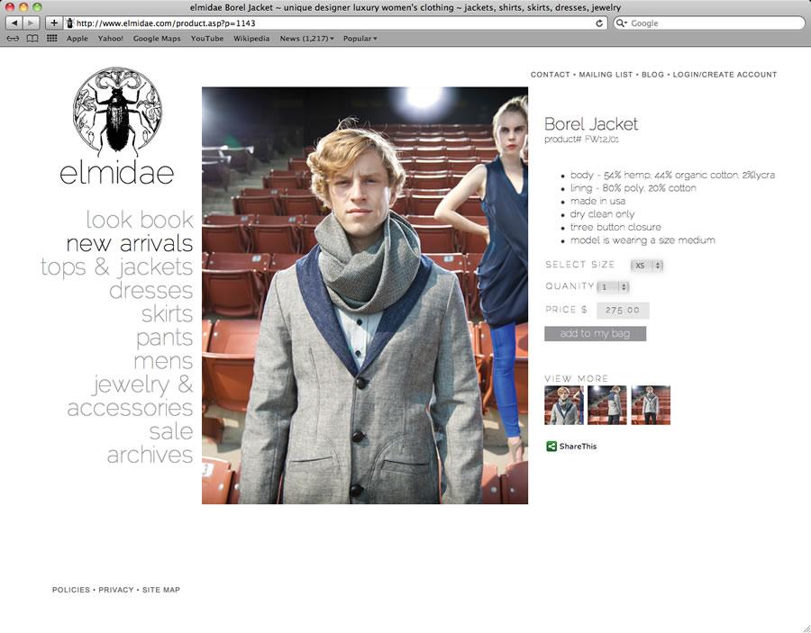 elmidae website design and programming #2