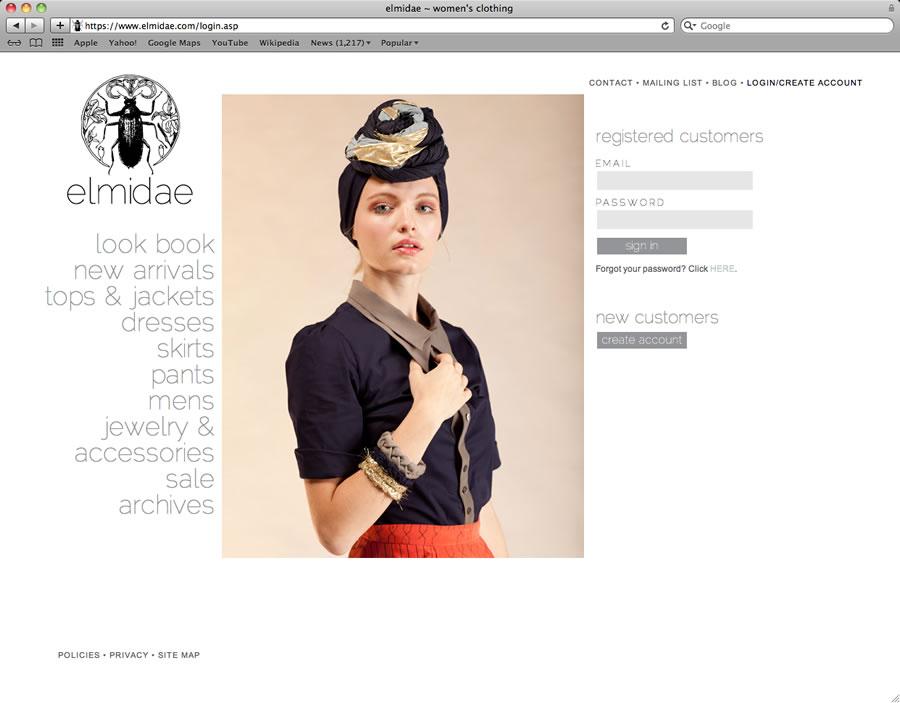 elmidae website design and programming #3