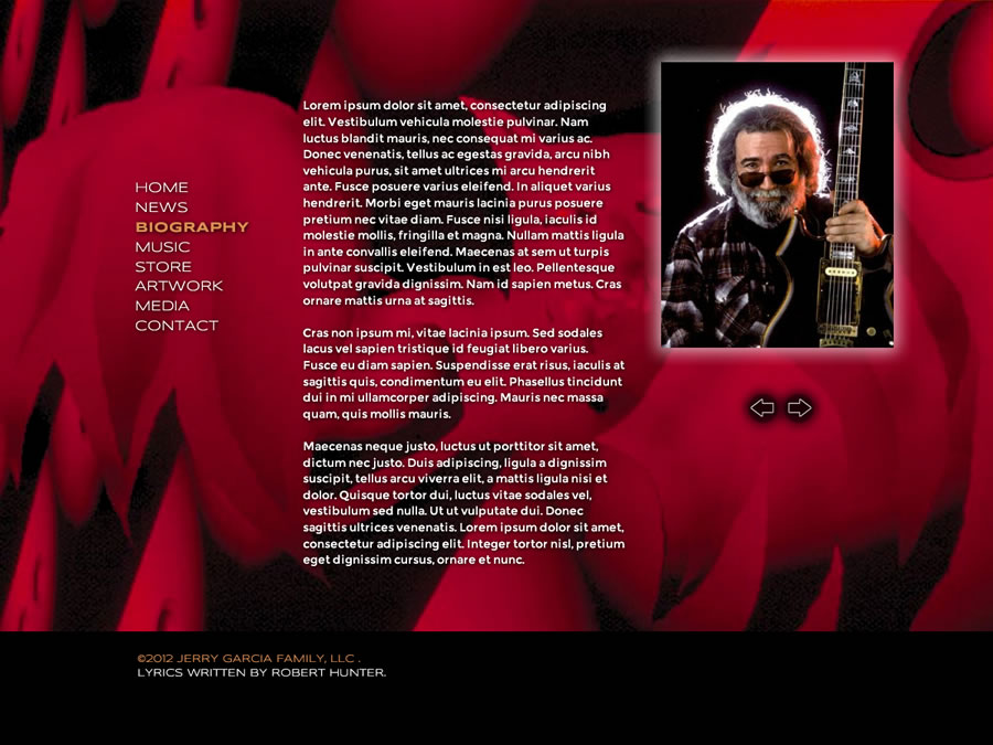 Jerry Garcia Design #3