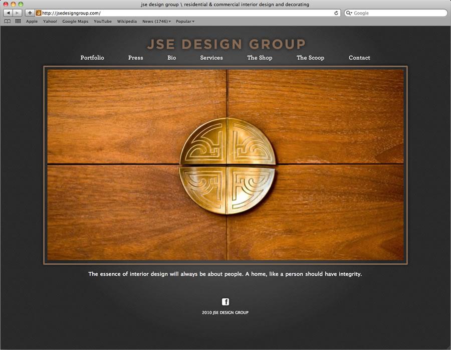 JSE website design and programming