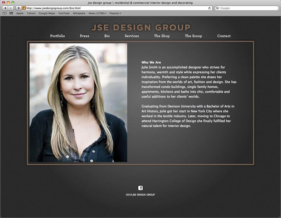 JSE website design and programming #3