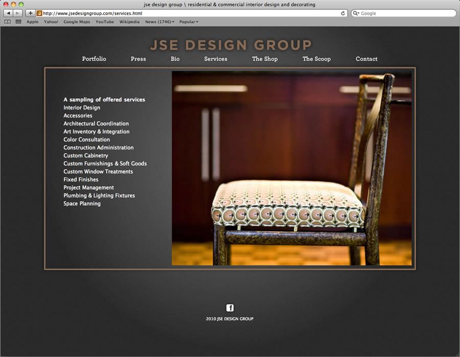 JSE website design and programming #4