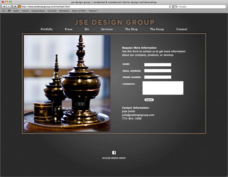 JSE website design and programming #5