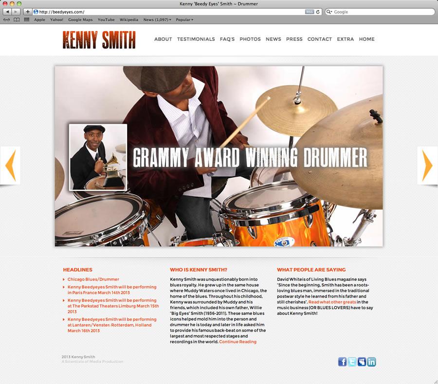 Kenny Smith Website @#