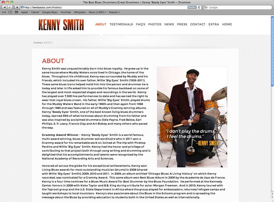 Kenny Smith Website #2