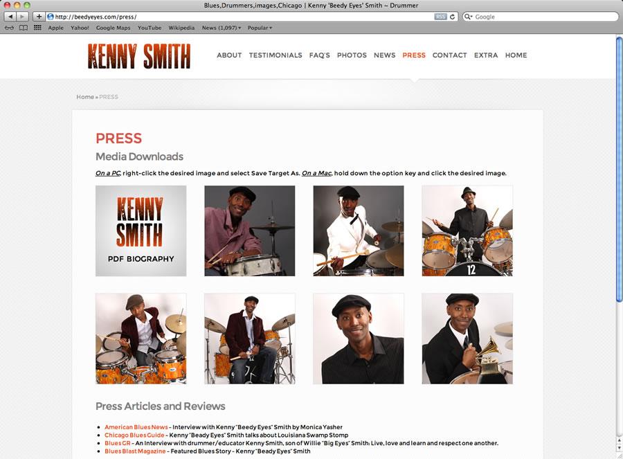 Kenny Smith Website #3