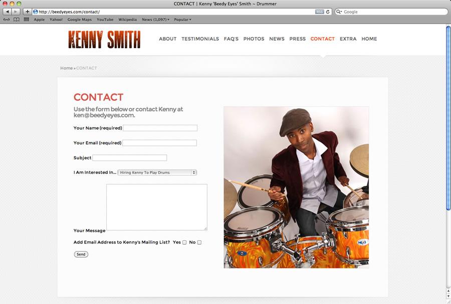 Kenny Smith Website #4
