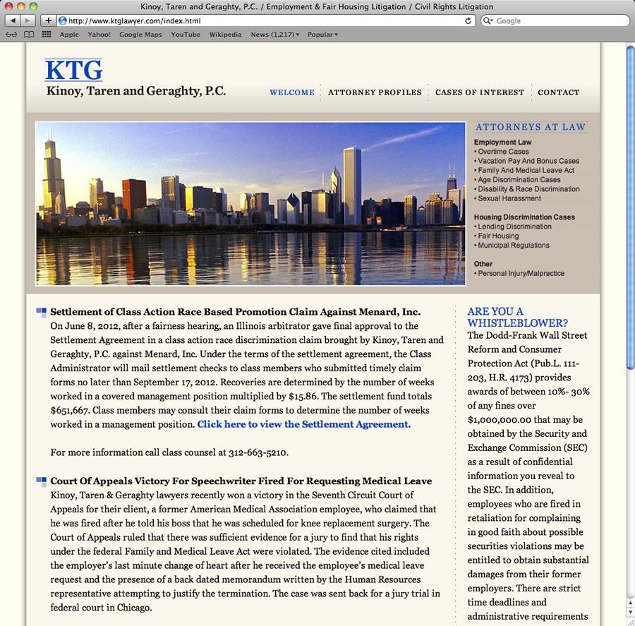 KTG Lawyer Design & Programming #1