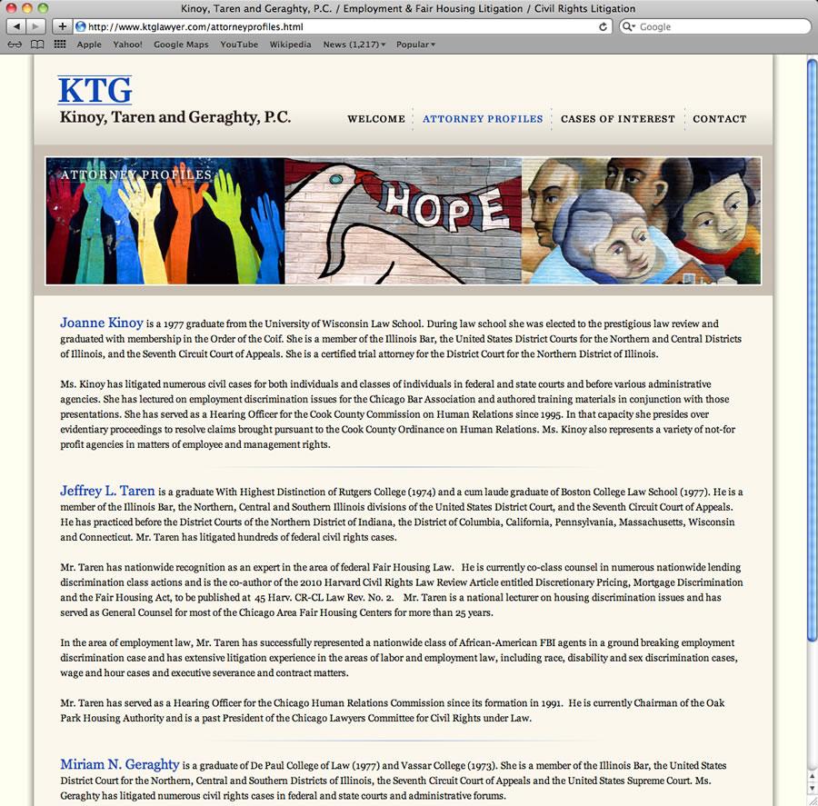 KTG Lawyer Design & Programming #2
