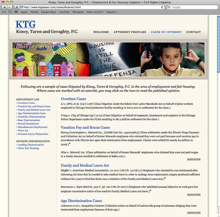 KTG Lawyer Design & Programming #3