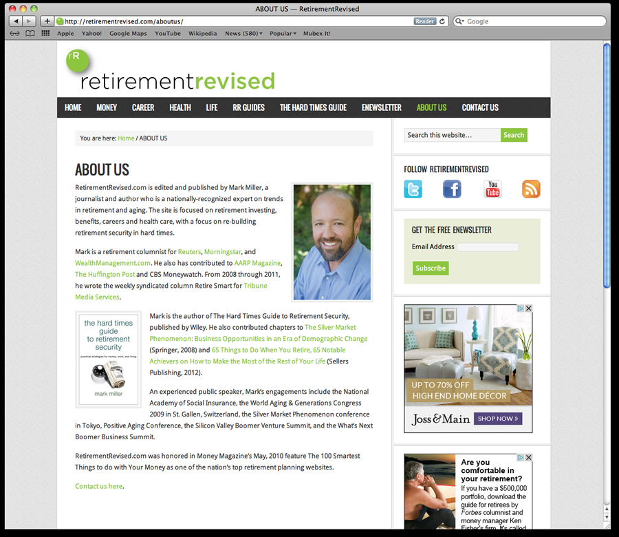 Retirement Revised WordPress 3