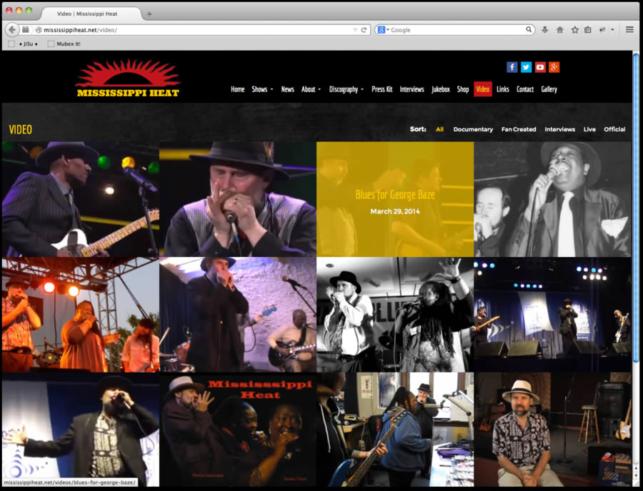 Mississippi Heat Website Design 5