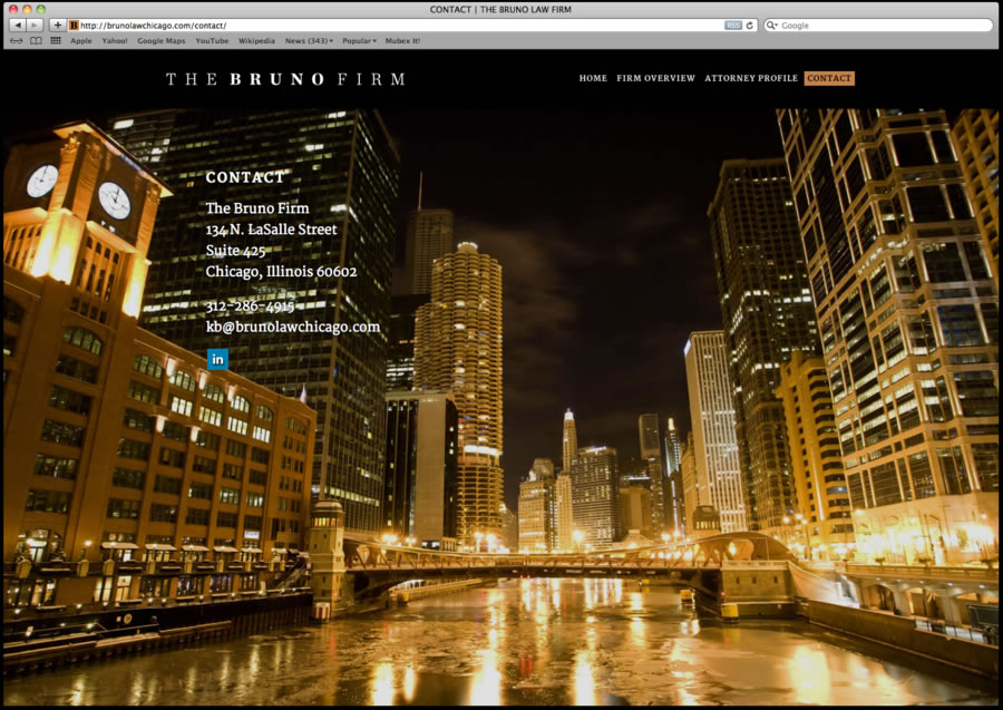 Bruno Law Firm Website Design 03