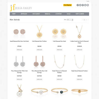 Julia Failey Jewelry