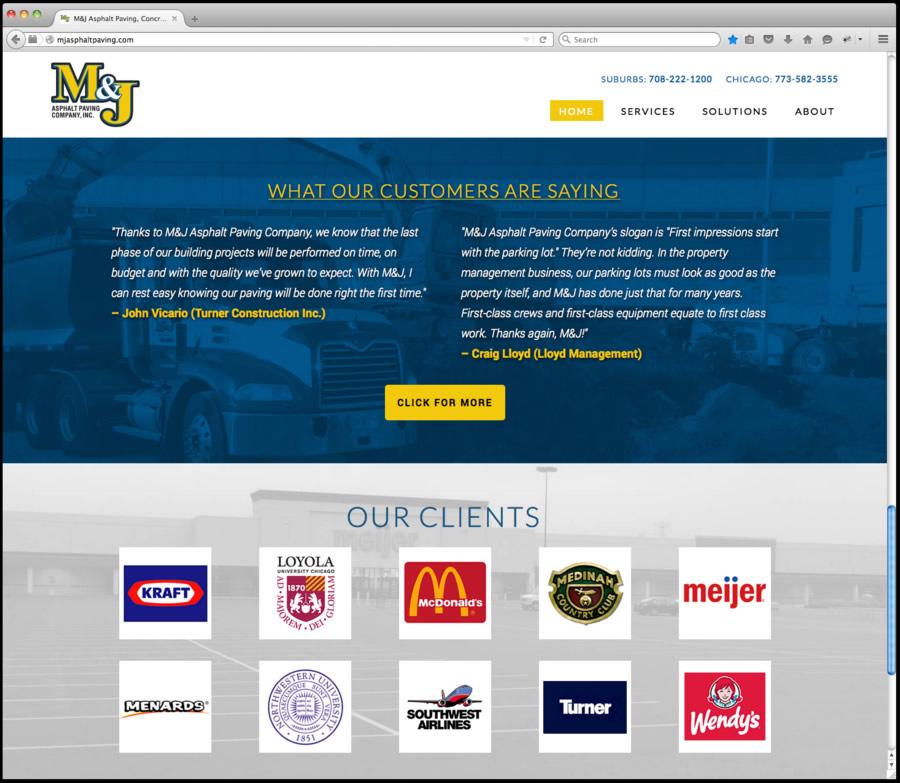 M&J Web Design 2