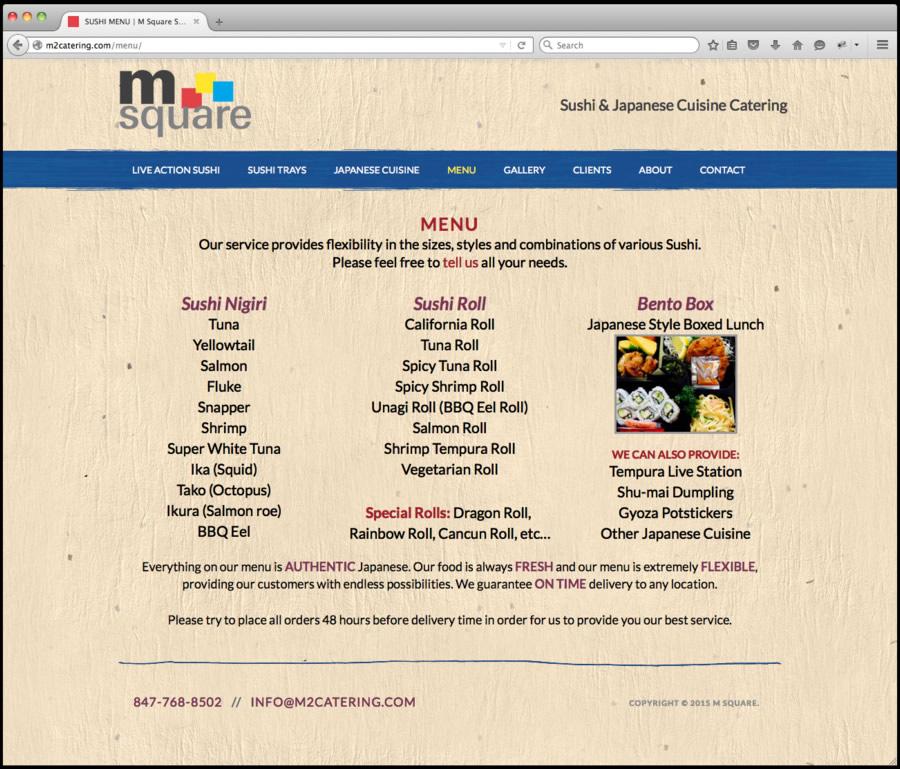 M Square Web Design 2